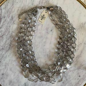 NWT 🆕 💖 Talbots 5 strand Acrylic Necklace